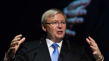 Kevin Rudd says China is becoming more publicly critical of North Korea.