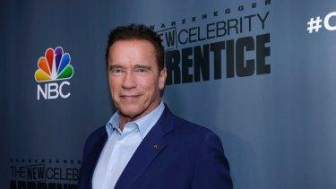 Arnold Schwarzenegger, the new boss of <i>The New Celebrity Apprentice</i>.
