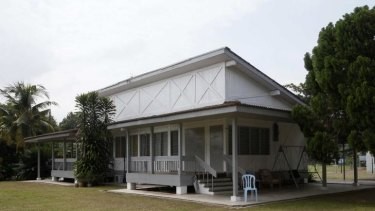 The transit centre for asylum seekers at Port Dickson, outside Kuala Lumpur, is ready to go.