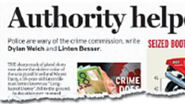 The <i>Herald</i> began its exposé on the operations of the Crime Commission last month.