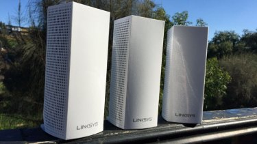 Linksys' Velop mesh WiFi hotspots work together to combat blackspots in your home wireless network.