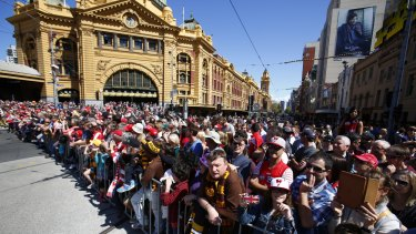 Premier Daniel Andrews is upbeat about the first Grand Final public holiday despite the possibility of a non-Victorian match