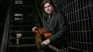 Conviction: Tex Perkins will perform behind bars as a different man in black.