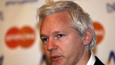 Julian Assange ... in Andrew Bolt's corner.