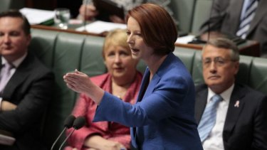 Julia Gillard delivers her famous misogyny speech to Parliament, a speech that attracted 2.5 million hits on YouTube.