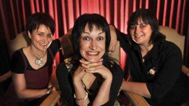 Carl Wilson, Janet McLeod and Geraldine Hickey.
