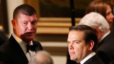James Packer and Lachlan Murdoch's shareholder guarantor fees have been repaid.