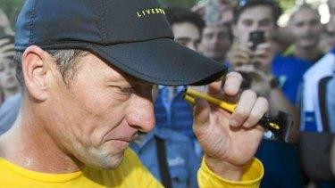 Deep-pocketed and sophisticated: Cheat Lance Armstrong.