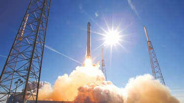 SpaceX says it can save considerable time and money by reusing the big, expensive parts of its Falcon 9 rockets.