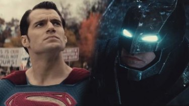 Who will win?: Two of the world's biggest superheroes will be pitted against each other in <i>Batman v Superman: Dawn of Justice</i>.