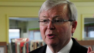 Prime Minister Kevin Rudd has moved to distance himself from an ICAC report into alleged corruption in NSW Labor.