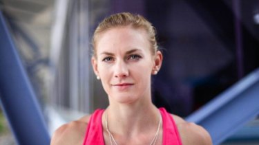 """Melissa Breen says she's disappointed by the level of her  funding and Athletics Australia does not see her as """"an investment for the future""""."""