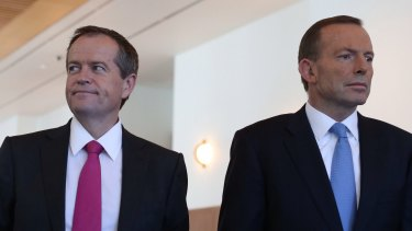 Prime Minister Tony Abbott and Opposition Leader Bill Shorten: Both men need to work hard to survive through to the next election.
