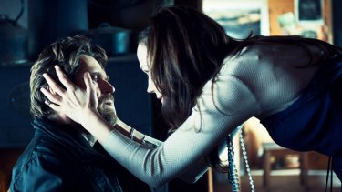 Anyone in there? ... like the audience, Lucy (Frances O'Connor) struggles to connect with the inscrutable Martin (Willem Dafoe).