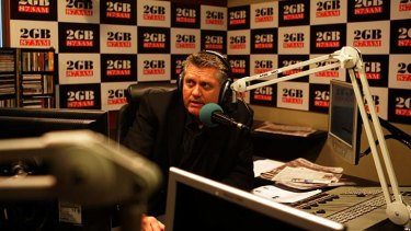 Ray Hadley ... accused of defaming the Attorney-General, Greg Smith.