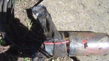 A temporary fix to Telstra's copper as seen by field staff in NSW's Illawarra region.
