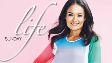 """Happy feats ... At 35, TV presenter Yumi Stynes """"feels like it's coming together""""."""