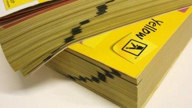 Job cuts ... Sensis runs the Yellow Pages.