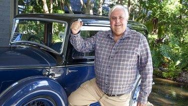Narrow victory: Clive Palmer.
