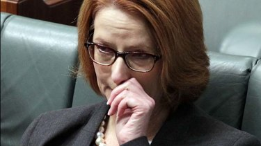 An emotional Prime Minister teared up in Federal Parliament on Wednesday, recalling meeting Sophie.