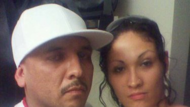Jason Valdez posted this picture of him and his hostage on his Facebook page.