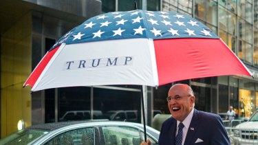 A loyal Trump supporter: Rudy Giuliani