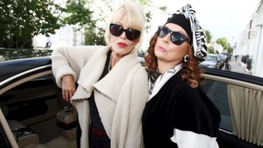 From small screen to big: Jennifer Saunders and Joanna Lumley will return as Edina and Patsy in the <i>Absolutely Fabulous</i> movie.