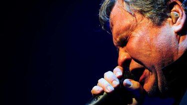Rocker Meat Loaf belts out another power ballad.