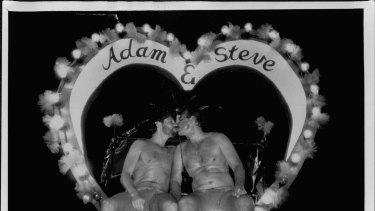 The Gay Mardi Gras in Sydney in 1990.