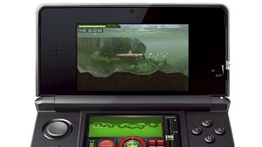 Steel Diver on the 3DS.