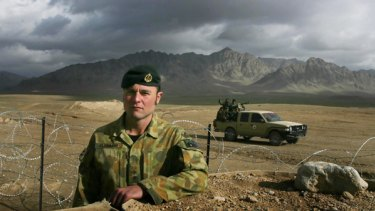 Lieutenant Jake Kleinman, commander of the small Australian team based at  Forward Patrol Base Buman.