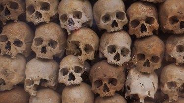 Pol Pot victims, Siem Reap.