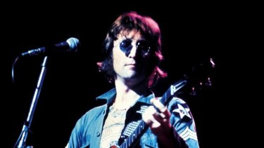 John Lennon was shot dead in New York in 1980.
