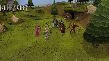 WRETCHED HIVE: Screenshot from the massively multiplayer online role-playing game, RuneScape.
