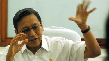 Indonesia vice president Boediono.
