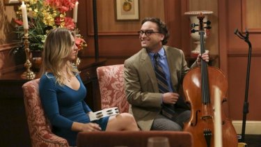 <i>The Big Bang Theory</i> on Nine, for now.