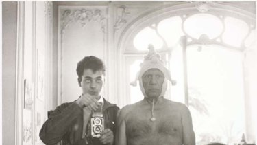 Pablo Picasso ... as photographed by Andre Villers.