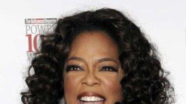 Coming to Australia ... Oprah Winfrey.