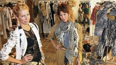 Sass&Bide designers Heidi Middleton and Sarah Jane Clarke.