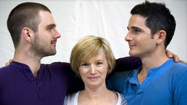 ''We are doing a comedy but we're going to explore deeper issues'' ... Guy Edmonds, Jane Turner and Matt Zeremes. The musical aims to make parliament change its mind about same-sex marriage.