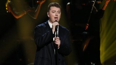 Not your usual pop idol? ... Sam Smith performs at the American Music Awards in November 2014.
