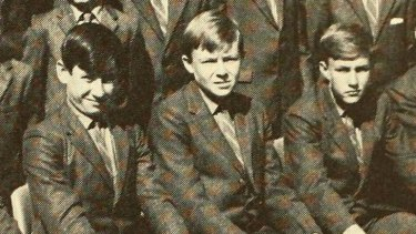 Mr Rudd in the 1971 yearbook.
