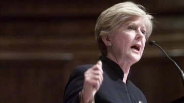 Human rights commissioner Gillian Triggs.