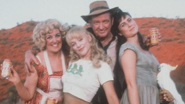 Rod Taylor in the Australian film <i>Welcome to Woop Woop</i>.