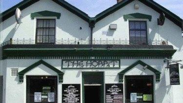 The Hobbit pub in Southampton.