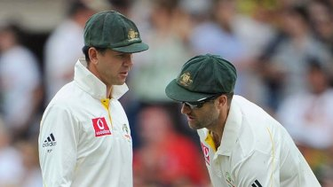 Shocked ... former Australian captain Ricky Ponting, left, has backed Simon Katich's criticism.