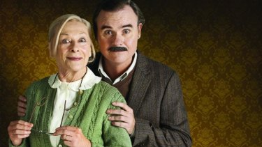 Noeline Brown and Darren Gilshenan in Mother and Son.