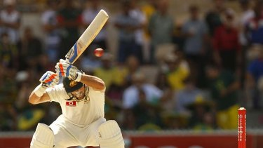 Famous for his intensity, Mike Hussey has learnt to chill out at the crease, without letting down his guard.
