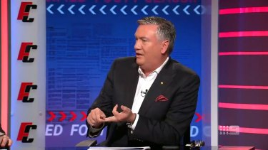 Eddie McGuire may no longer be the president of Collingwood, but he showed he is as passionate as ever about the club in a heated exchange regarding the Magpies' list management.