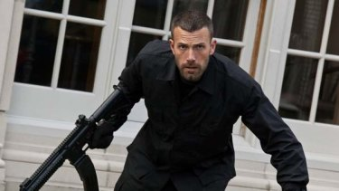 On home turf ... Ben Affleck as bank-robbing mastermind Doug in <i>The Town</i>, set in Boston.